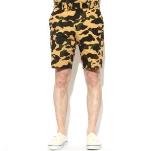 mr-bathing-ape-1st-camo-seersucker-shorts-yellow-1