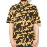 mr-bathing-ape-1st-camp-seersucker-bd-ss-shirt-yellow-1